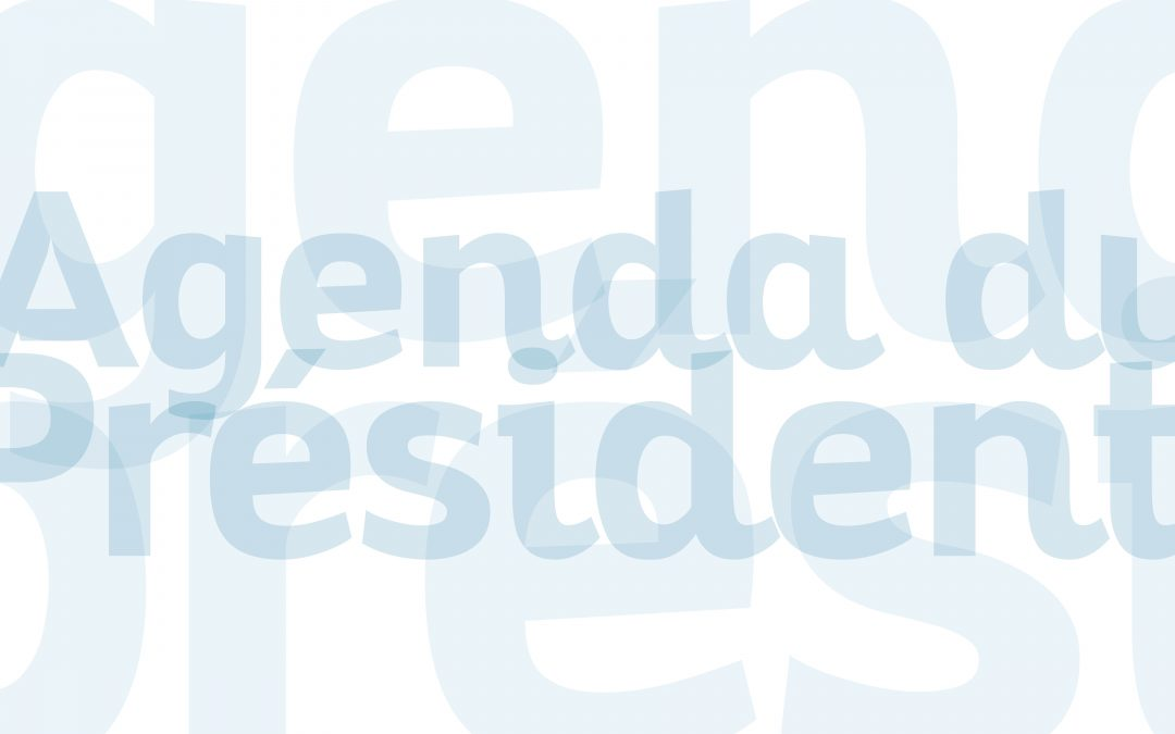 Agenda de Georges Méric – Semaine du 27 juillet au 2 août 2020