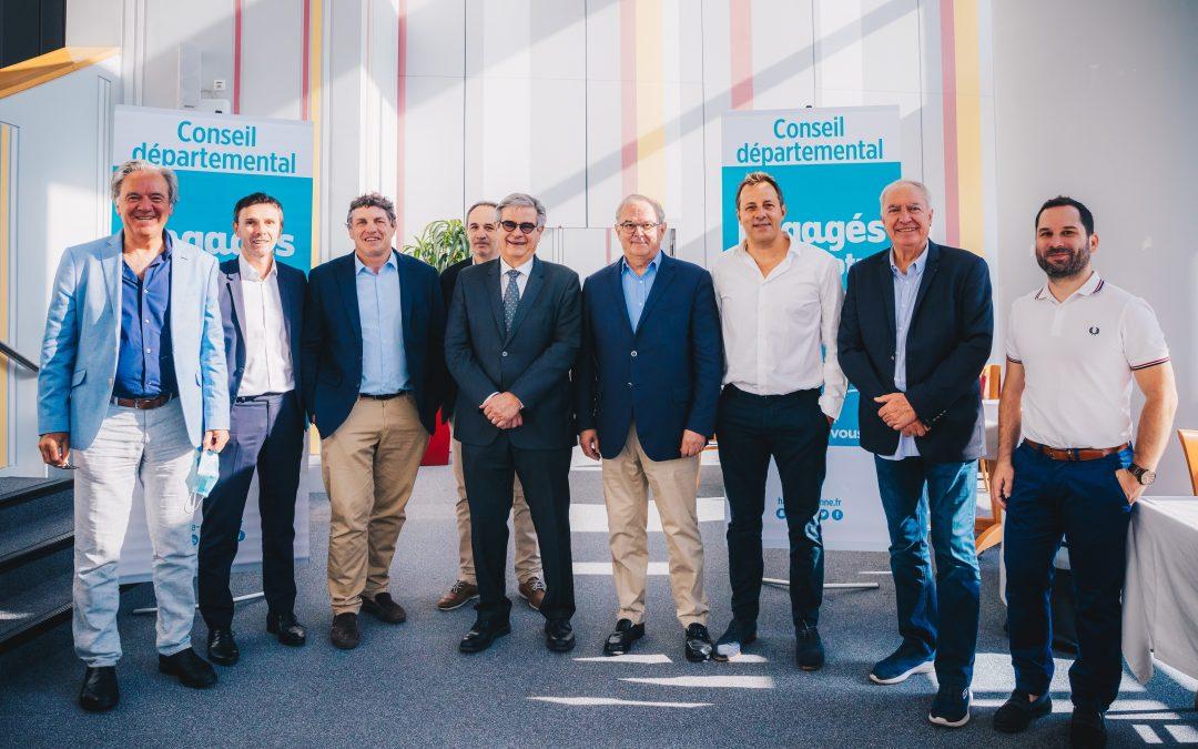 Georges Méric renouvelle son soutien aux clubs sportifs professionnels haut-garonnais