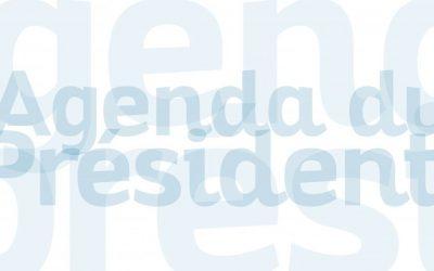 Agenda de Georges Méric – Semaine du 25 au 31 janvier 2021