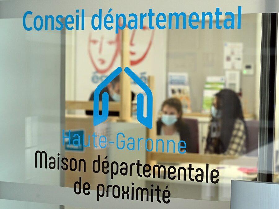 Visite de la nouvelle Maison départementale de proximité à Montréjeau